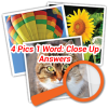 4 Pics 1 Word Close Up Answers