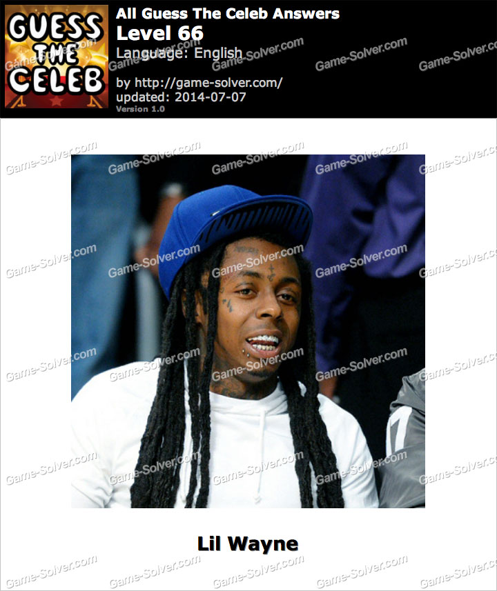 Celebrity Guess Level 66 - Answers King