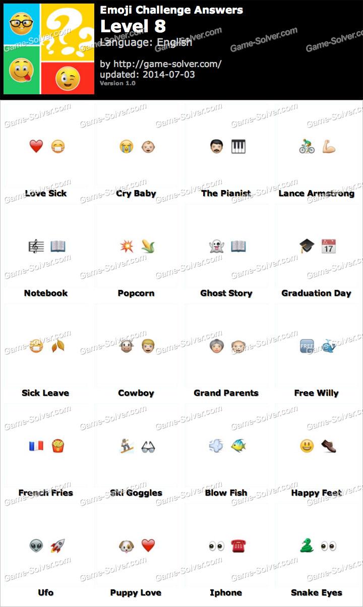EmojiNation 3D Nivel 2-2 - Quiz Answers