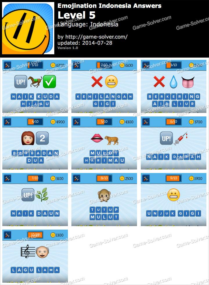 EmojiNation Indonesian Tingkat 5