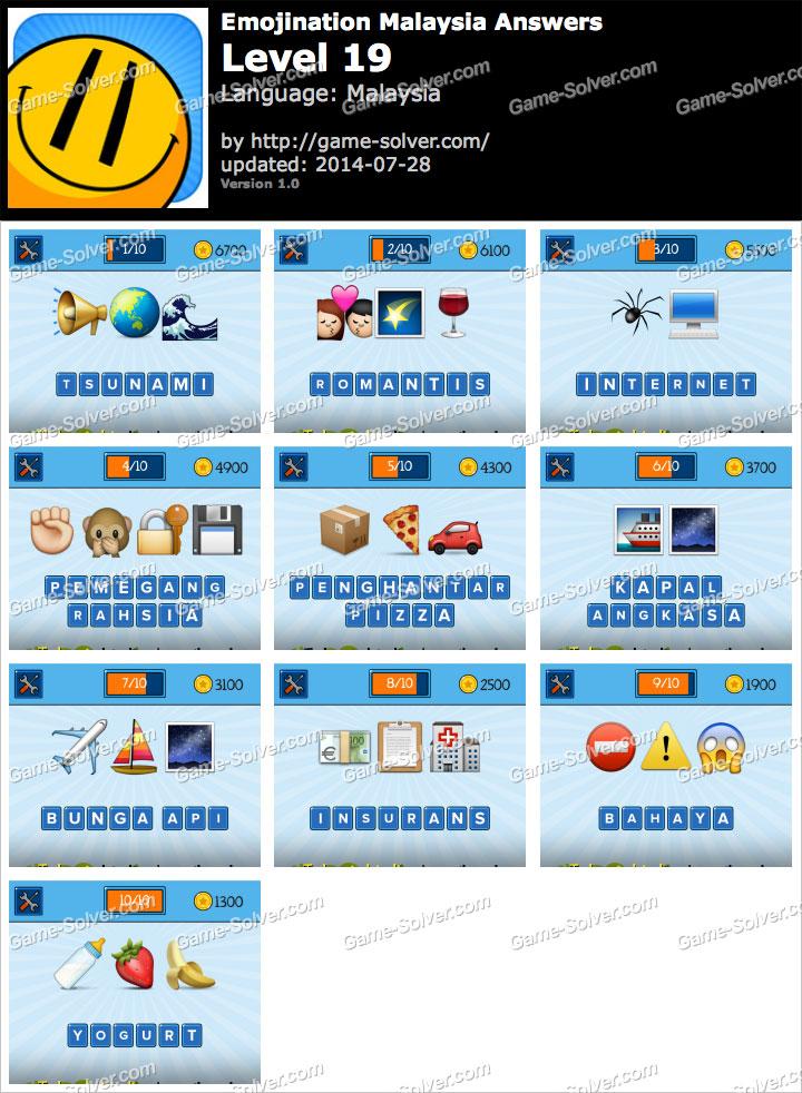 Emojination malaysia level 19 game solver