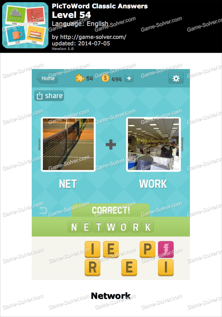 4 pictures one word cheats level 54