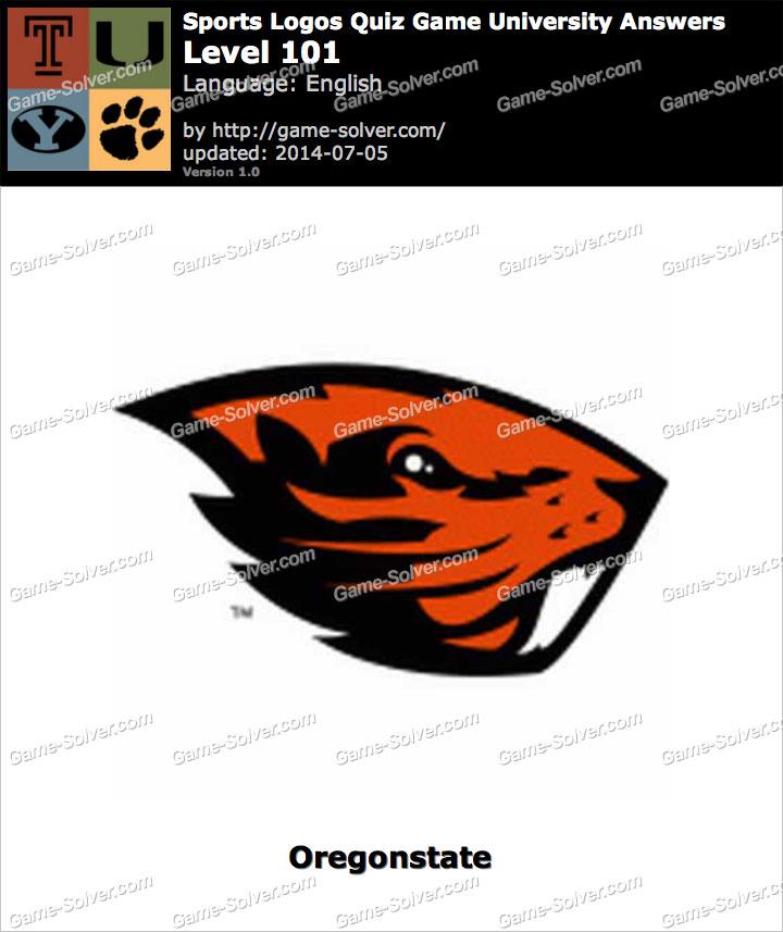 sports logos quiz game university level 101 game solver