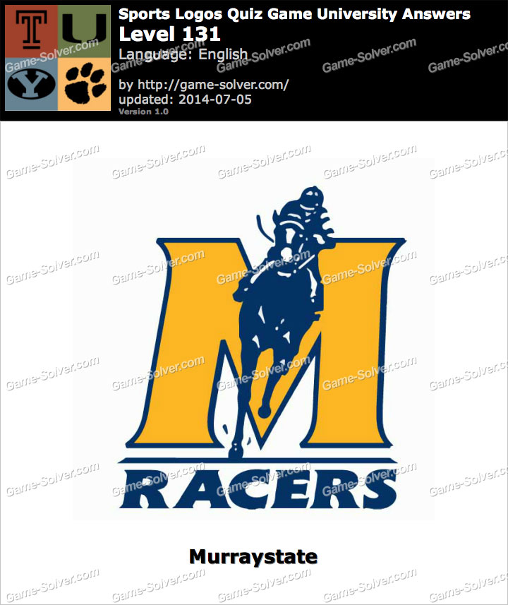 Sports Logos Quiz Game University Level 131