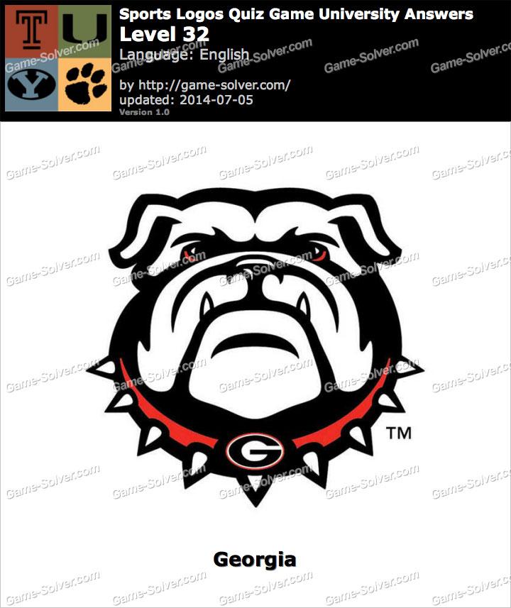 sports logos quiz game university level 32 game solver
