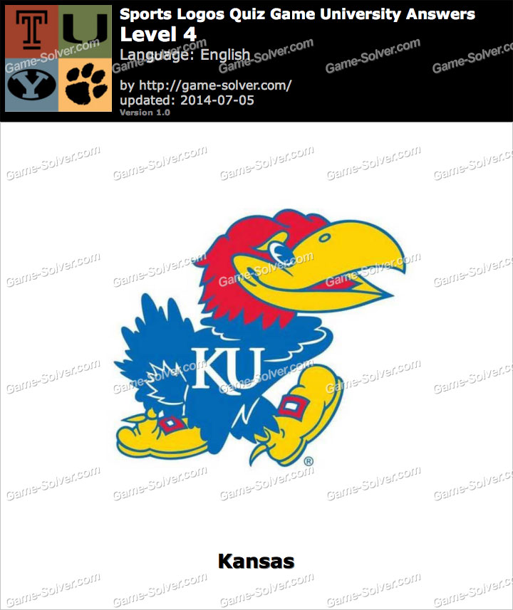 sports logos quiz game university level 4 game solver