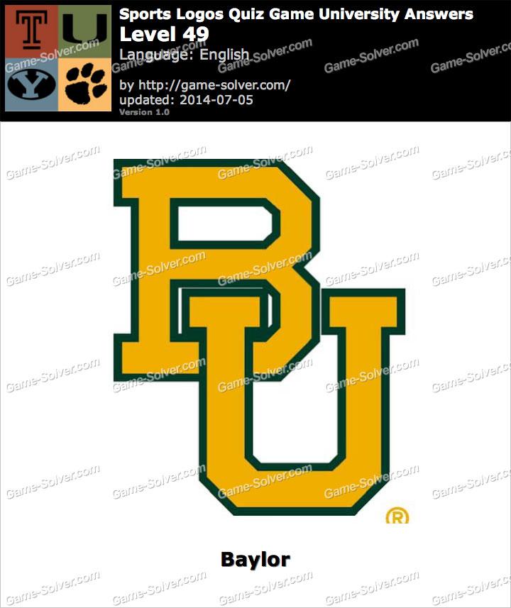 sports logos quiz game university level 49 game solver
