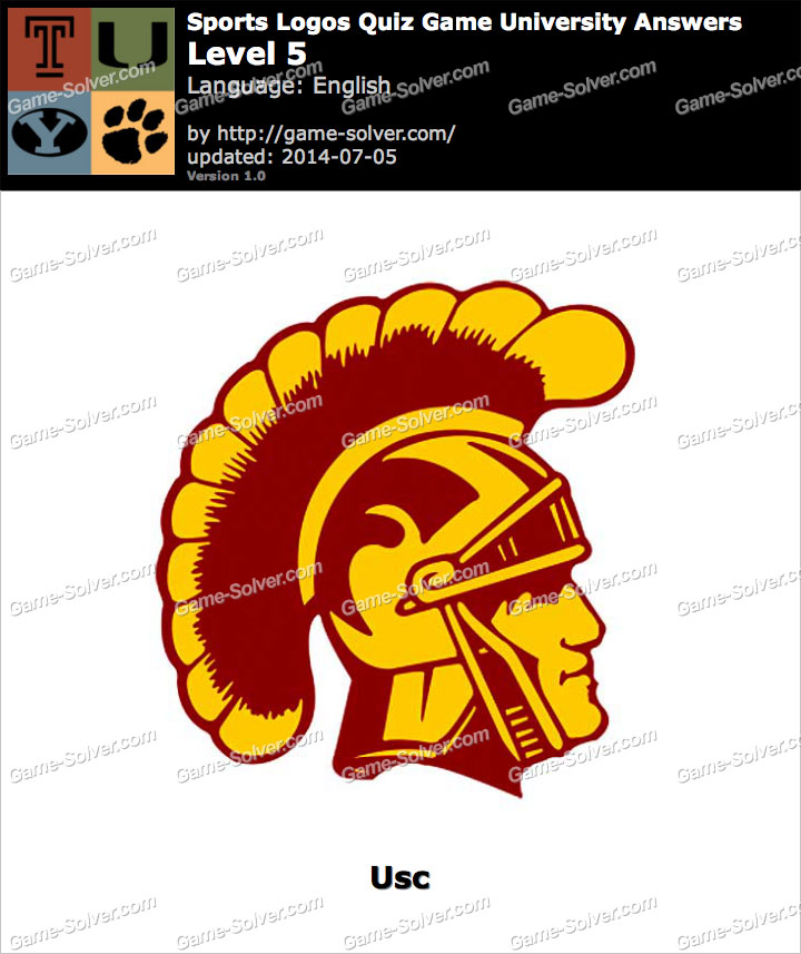 Sports Logos Quiz Game University Level 5