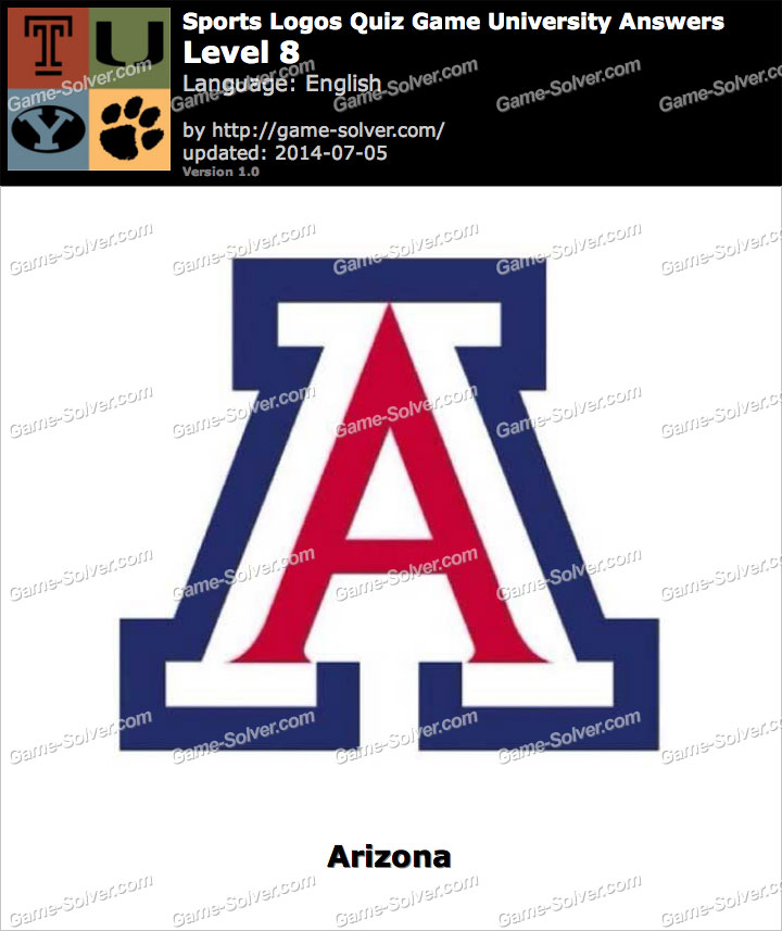 Sports Logos Quiz Game University Level 8