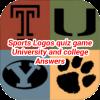 Sports Logos Quiz Game University Answers