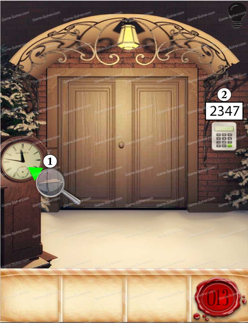 Solution 100 Doors Rooms Escape Niveau13 Doors Rooms