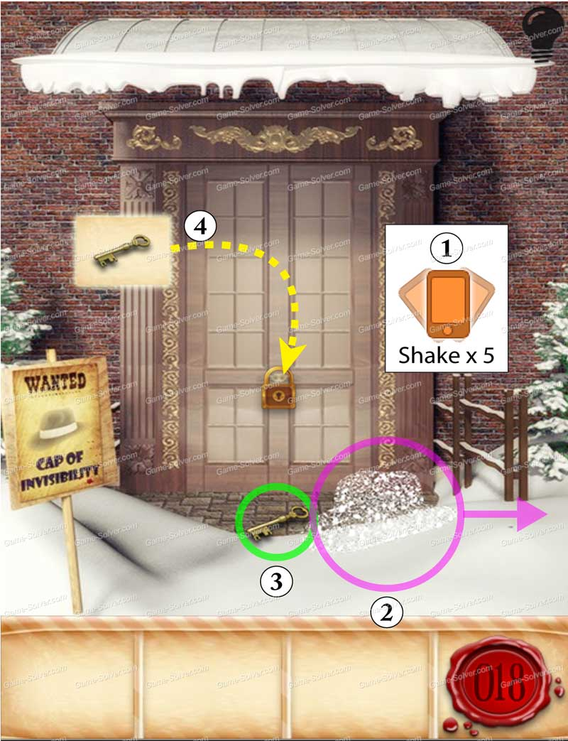 100 Doors Seasons - Part 1 Level 18 & 100 Doors Seasons \u2013 Part 1 Level 18 - Game Solver