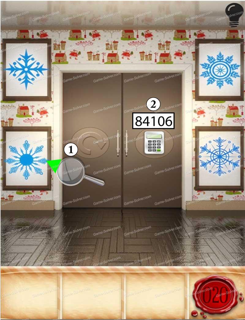 100 Doors Seasons - Part 1 Level 20 & 100 Doors Seasons \u2013 Part 1 Level 20 - Game Solver