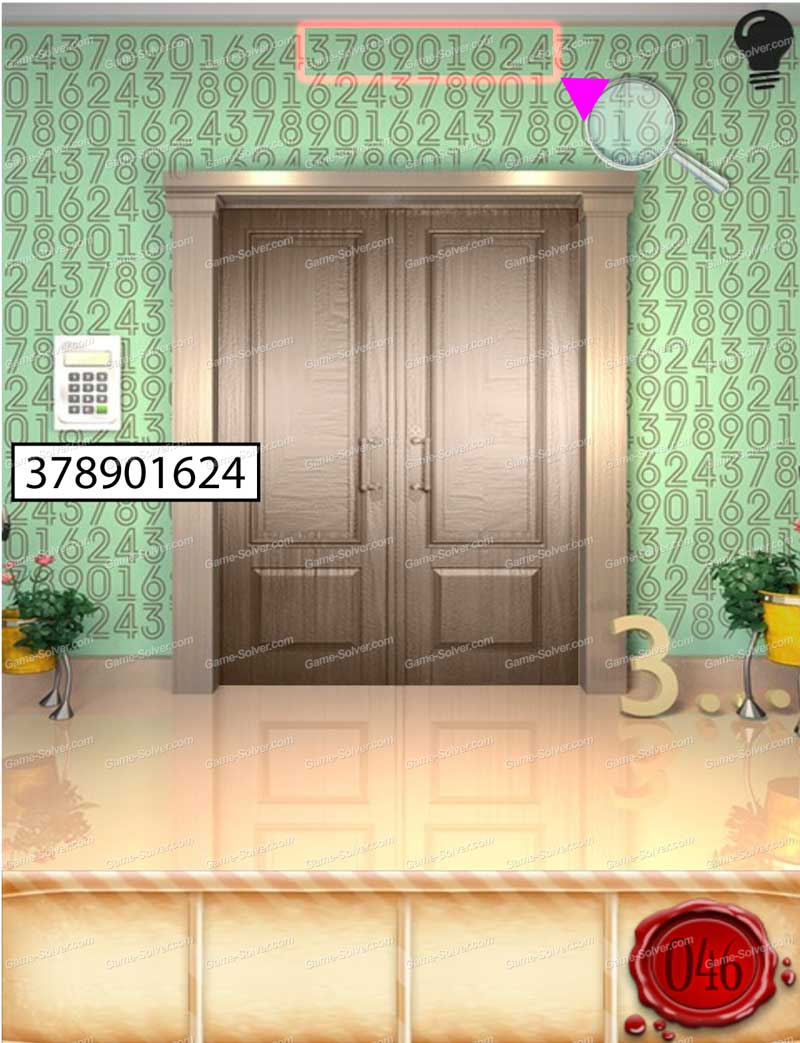 100 doors seasons part 1 level 46 game solver