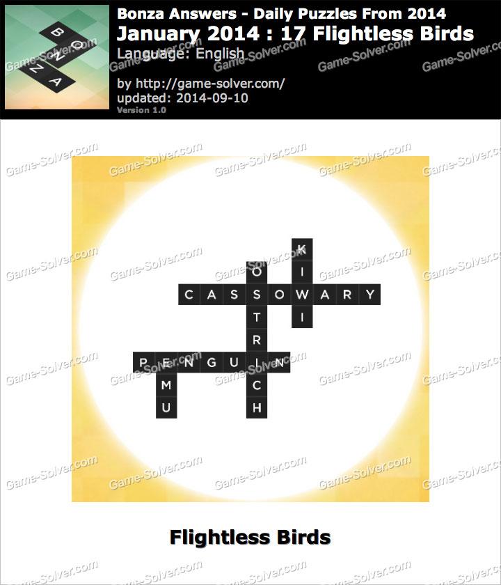 Flightless Bird With Names 2014 17 Flightless Birds