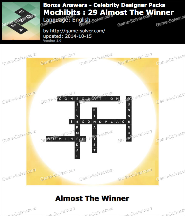 Bonza Word Puzzle: Answer Clue-Based Jigsaw Crosswords ...