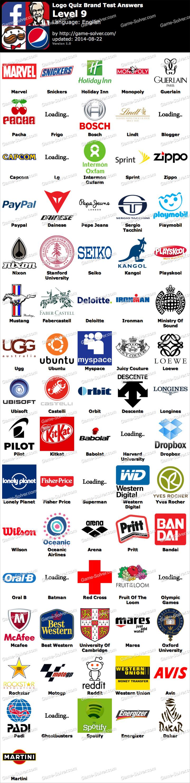 Logo quiz answers logo quiz solution logos quiz solutions logo quiz - Logo Quiz Brand Test Level 9 Game Solver