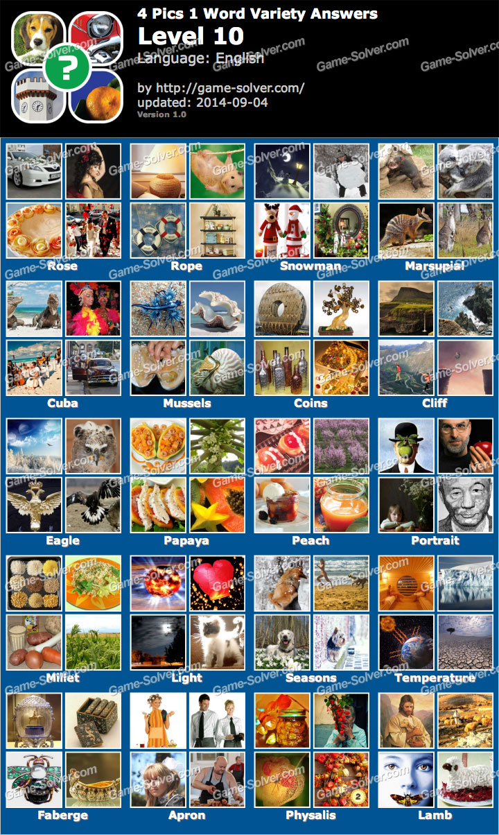 4 1 My Fall Uniform: 4 Pics 1 Word Variety Level 10