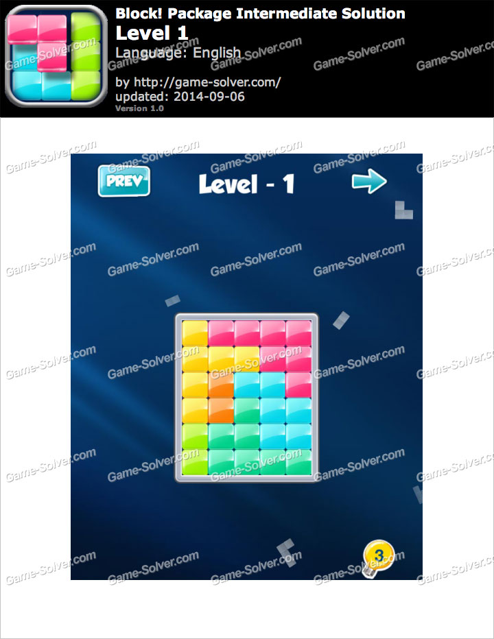 Block! Package Intermediate Level 1