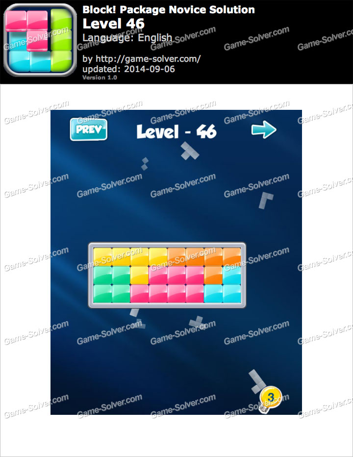 Block! Package Novice Level 46