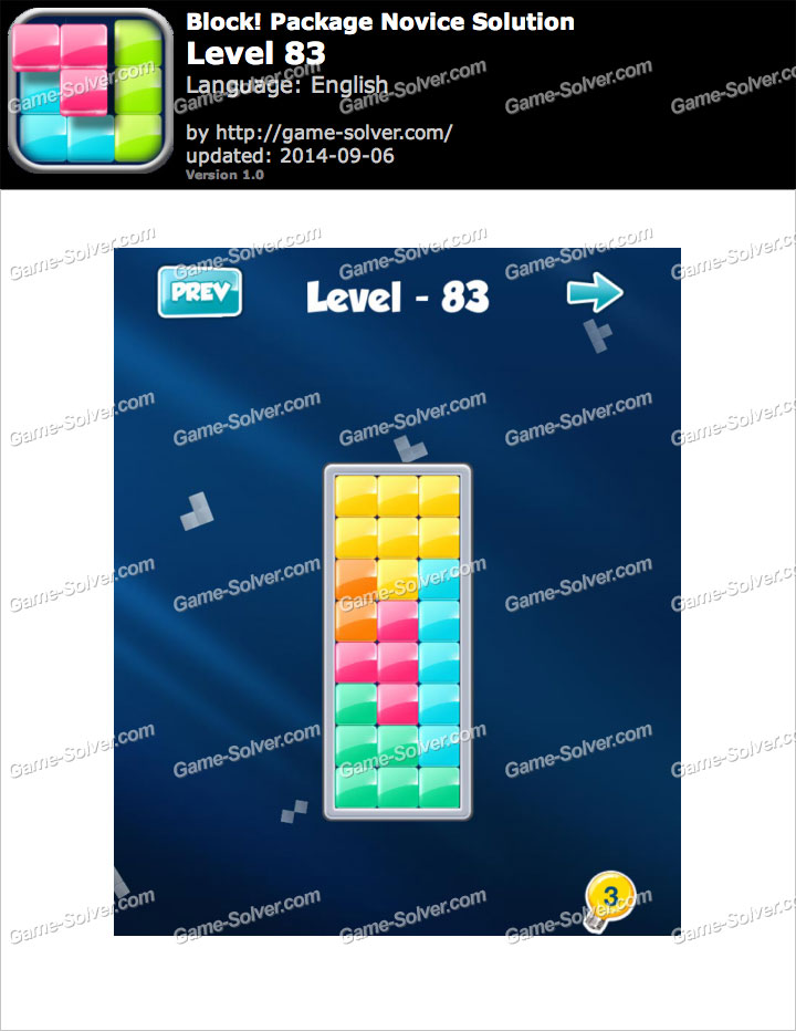 Block! Package Novice Level 83