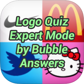 Logo Quiz Expert Mode Bubble Level 8 Game Solver