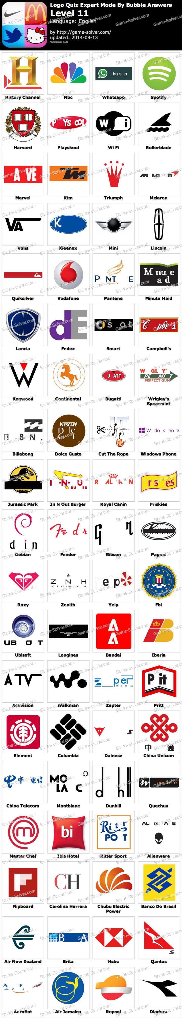 logo quiz expert niveau 4