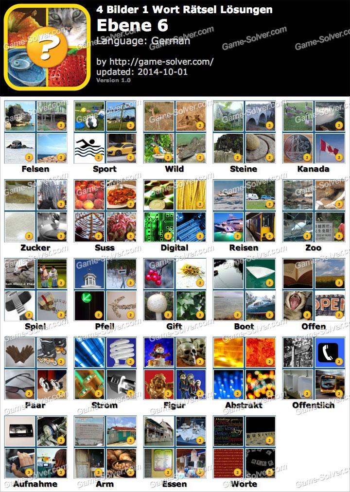 4 bilder 1 wort r228tsel ebene 6 game solver