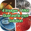 4 Images 1 Mot Quel est le mot Solution