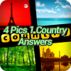 4 Pics 1 Country Answers