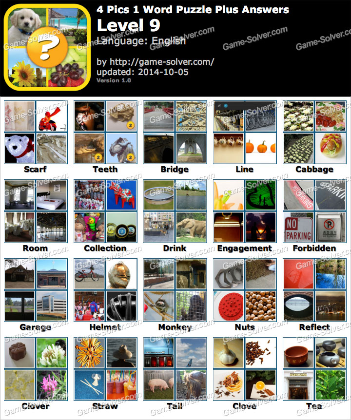 9 letters answers pack 4 picture gallery 4 pics 1 word puzzle plus level 9 expocarfo Choice Image
