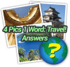 4 Pics 1 Word Travel Answers
