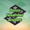 Bonza November Answers