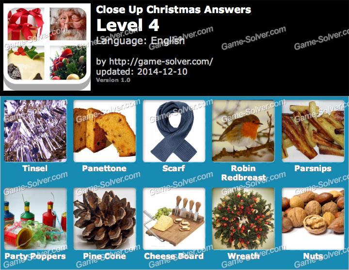 Close Up Christmas Level 4 Game Solver