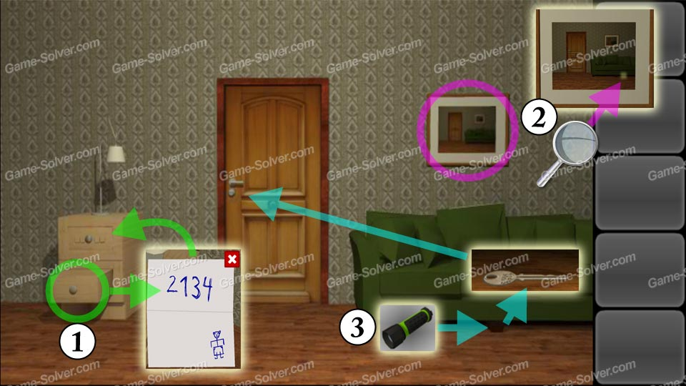 Escape  Magic Rooms Walkthrough