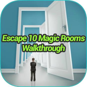 & Escape 10 Magic Rooms Walkthrough - Game Solver