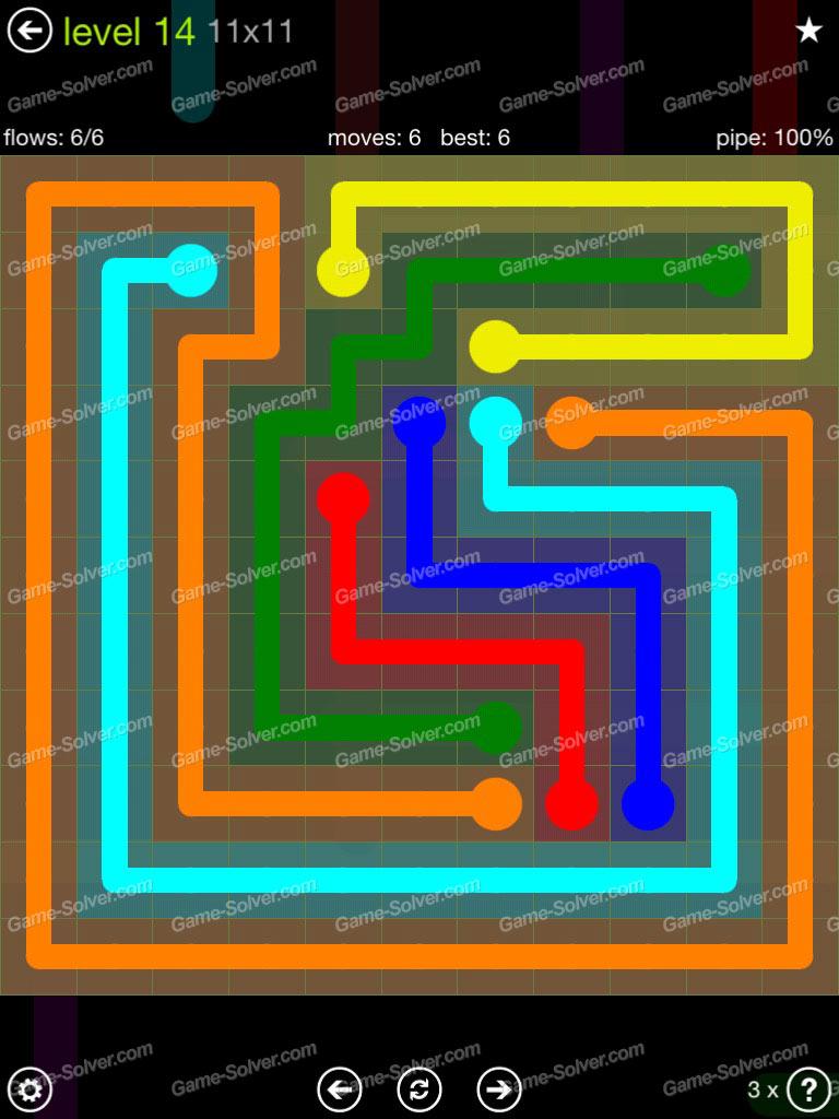 Flow Free Extreme Pack 11x11 Level 7 Spectrumfasr