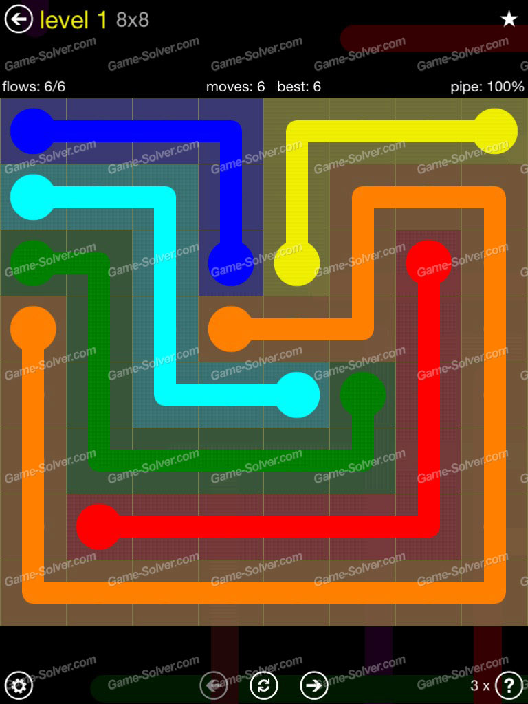 Flow Extreme Pack 2 8x8 Level 1