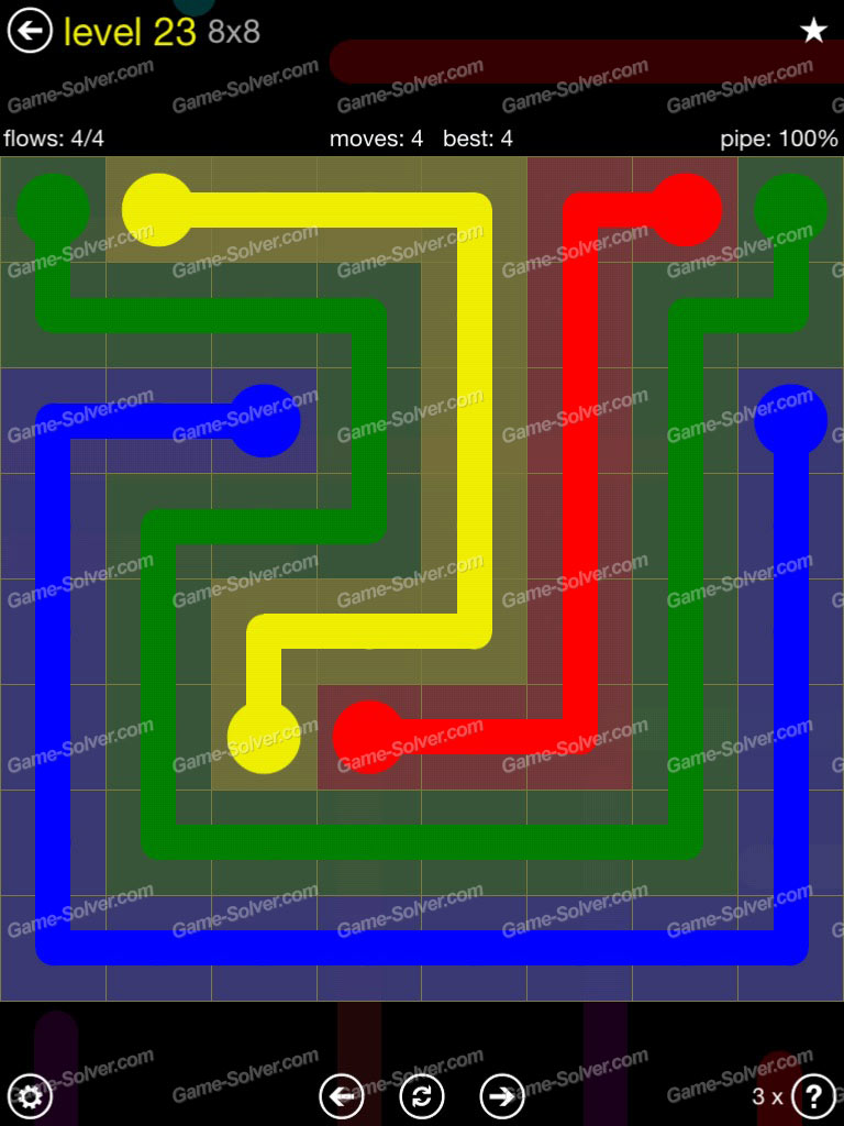Flow Extreme Pack Set 12x12 Level 3: Flow Extreme Pack 2 8×8 Level 23