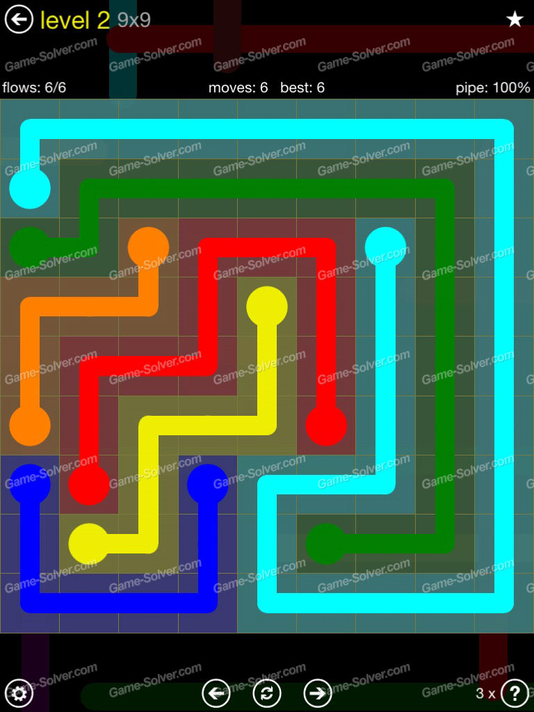 Flow Extreme Pack Set 12x12 Level 3: Flow Extreme Pack 2 9×9 Level 2