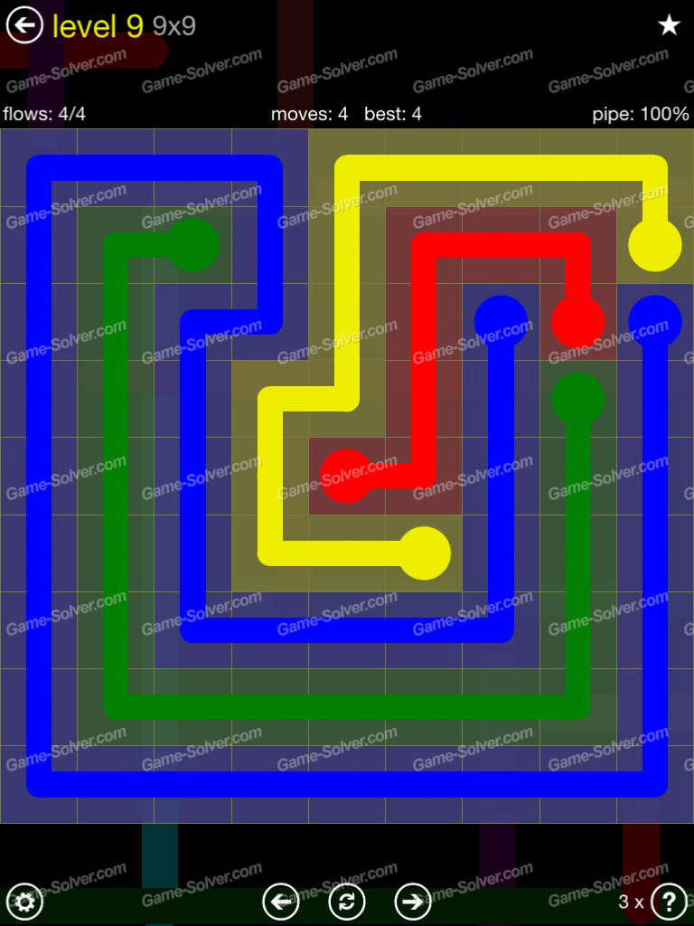 Flow Extreme Pack Set 12x12 Level 3: Flow Extreme Pack 2 9×9 Level 9