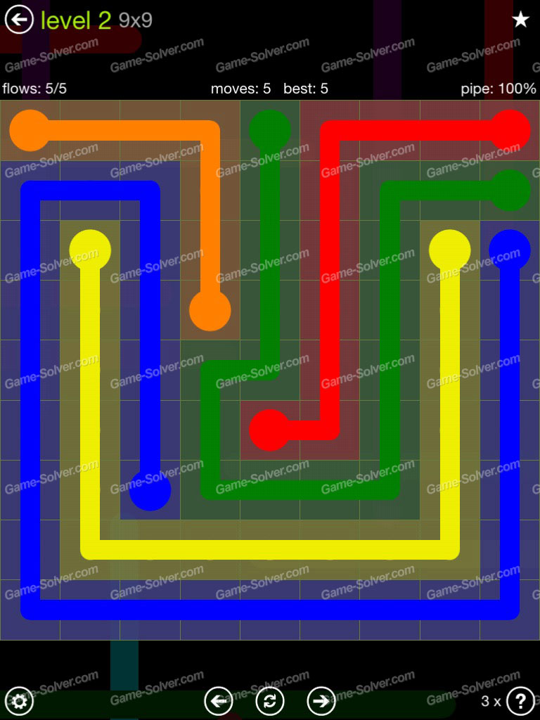 Flow Extreme Pack Set 12x12 Level 3: Flow Extreme Pack 9×9 Level 2