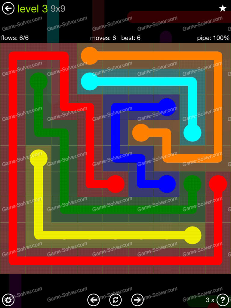 Flow Extreme Pack Set 12x12 Level 3: Flow Extreme Pack 9×9 Level 3