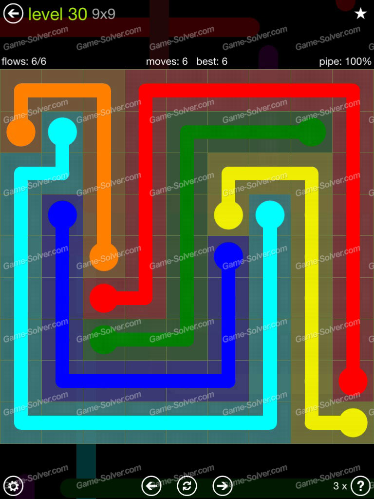 Flow Extreme Pack Set 12x12 Level 3: Flow Extreme Pack 9×9 Level 30