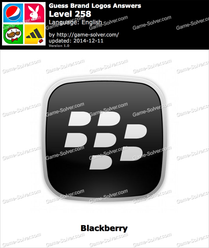 Blackberry Guess The Logo Answers Level 3 | www.imgkid.com ...