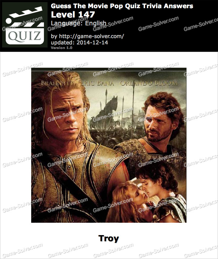 guess the movie pop quiz trivia level 147