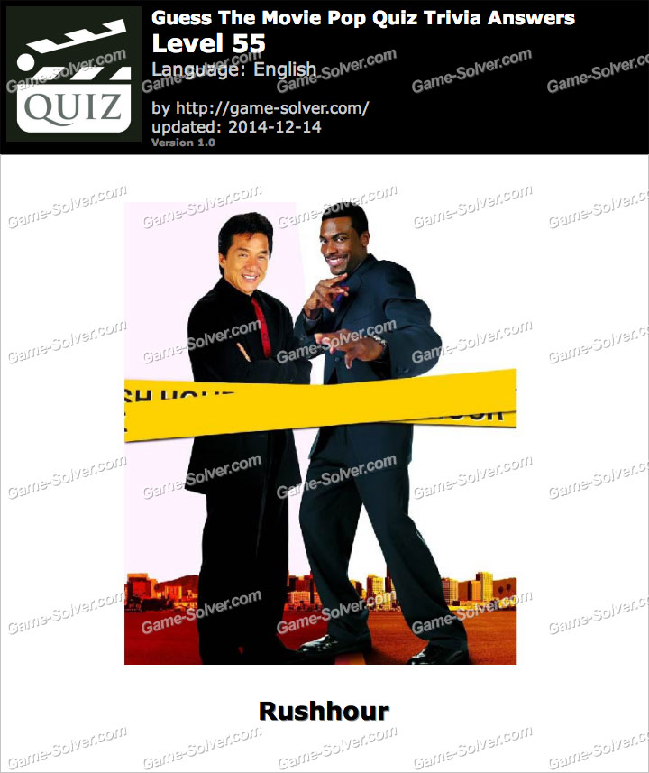 guess the movie pop quiz trivia level 55