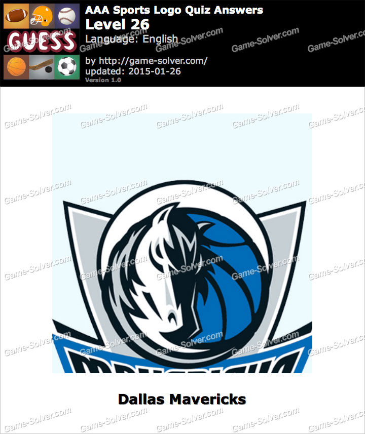 Logo Quiz Level 26 Answers Aaa Sports Logo Quiz Level 26