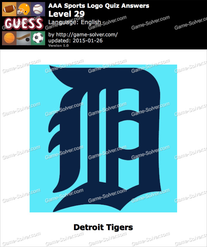 aaa sports logo quiz level 29 game solver