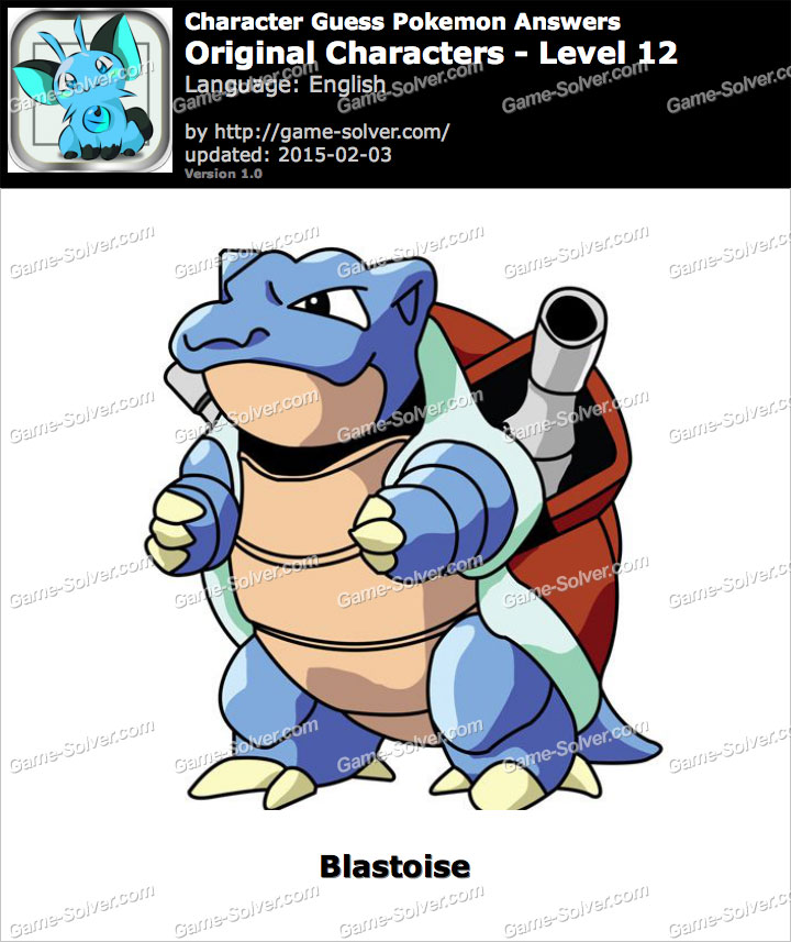 Original Character Level 12